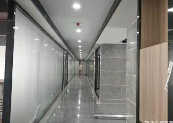 福永地铁口精装修写字楼114平起租,带隔间 带家私图片2