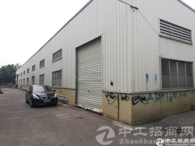 厚街镇白濠新出原房东钢结构5600平方厂房出租