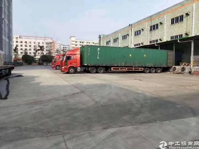 高速口新出标准物流仓库5000平方    带卸货平台