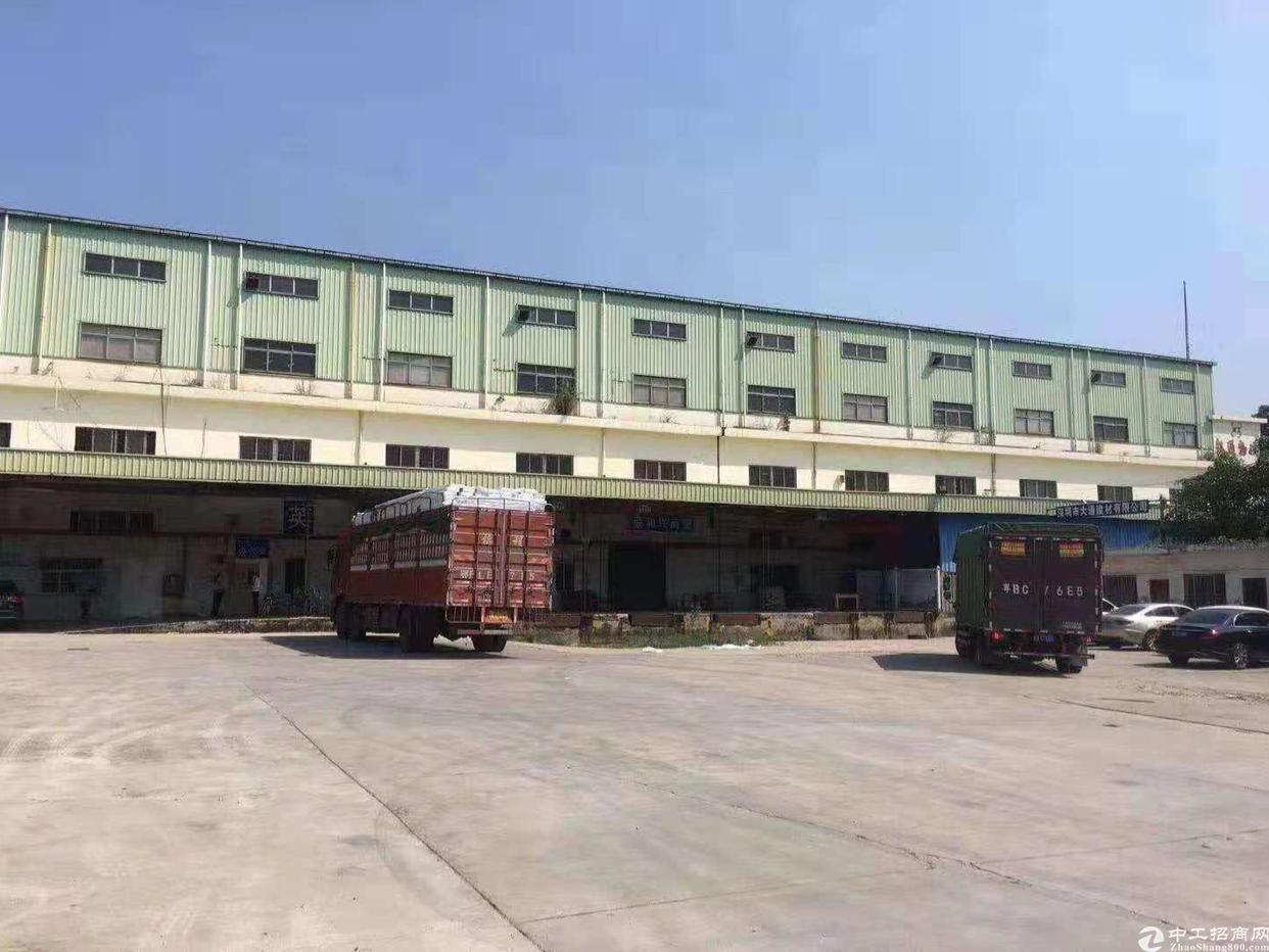 龙华有物流园仓库厂房出租2000平米最小面积有150平米出租