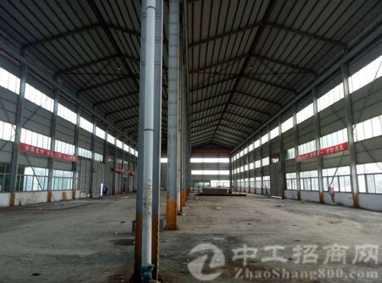 实业客转租厚街南五12米高单一层钢结构厂房1700平可做污染