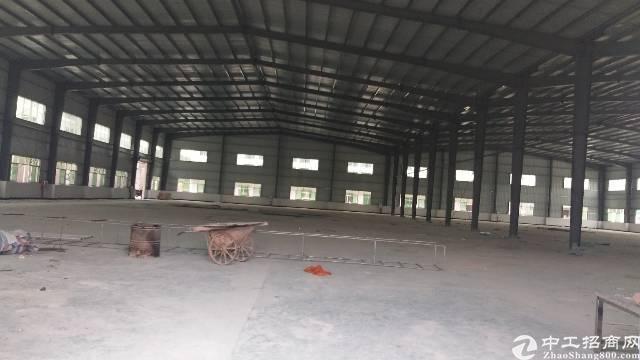 惠阳秋长独院钢构厂房6000平,滴水7米