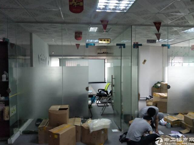 民治地铁口电商园新出精装修办公室500平(可分租,不要转让)