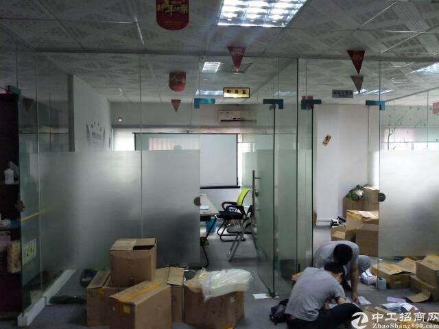民治地铁口电商园新出精装修办公室500平(可分租,不要转让)图片6