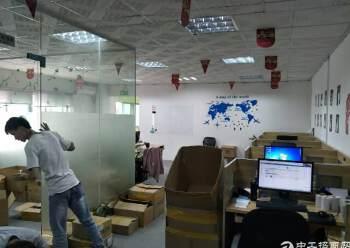 民治地铁口电商园新出精装修办公室500平(可分租,不要转让)图片5