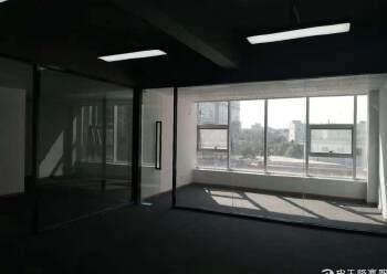福永地铁口精装修写字楼114平起租,带隔间 带家私图片3
