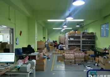 民治地铁口电商园新出精装修办公室500平(可分租,不要转让)图片4