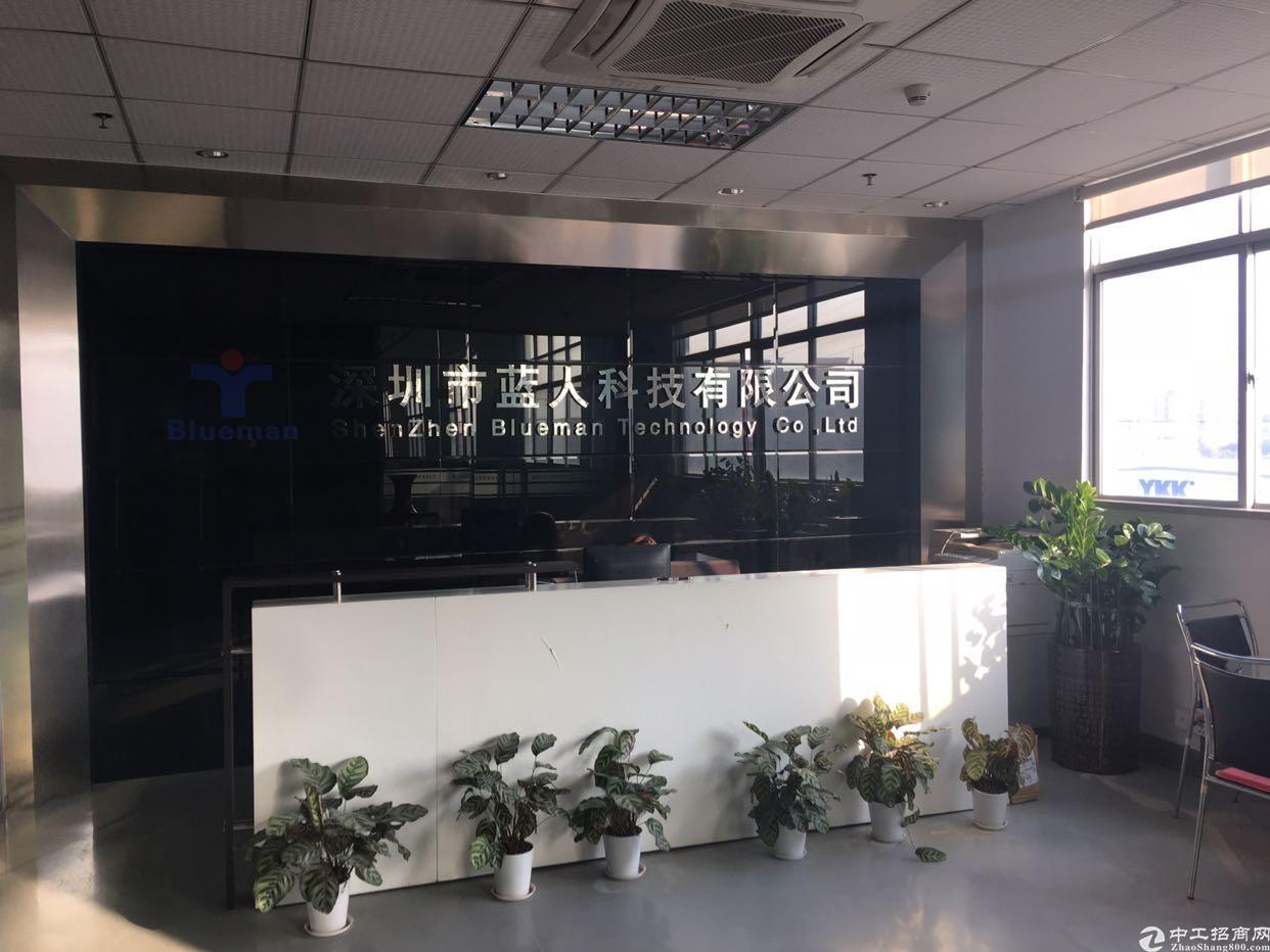 福永凤凰工业区楼上厂房600平带装修