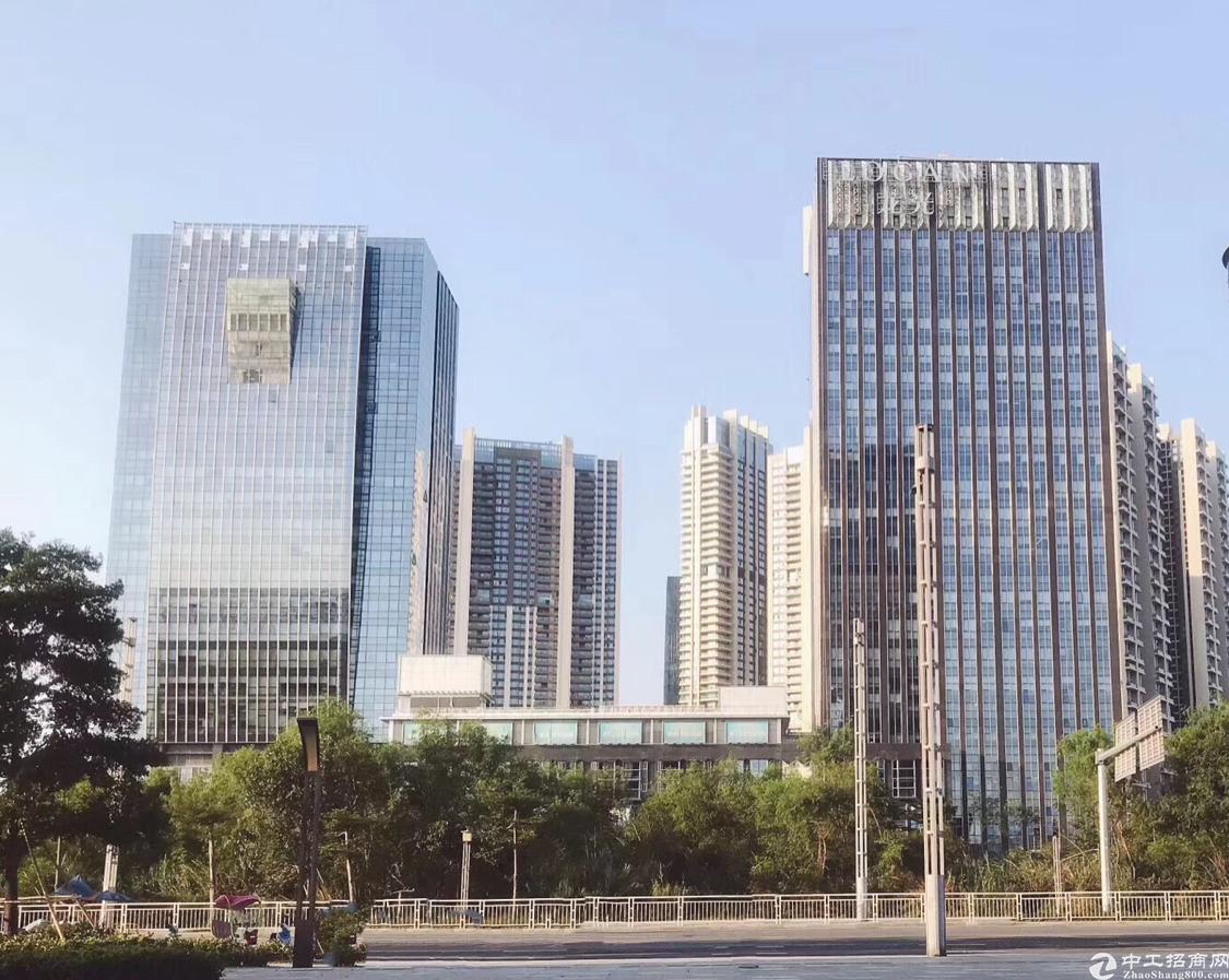 宝安中心区超甲级写字楼450平带超大会议室
