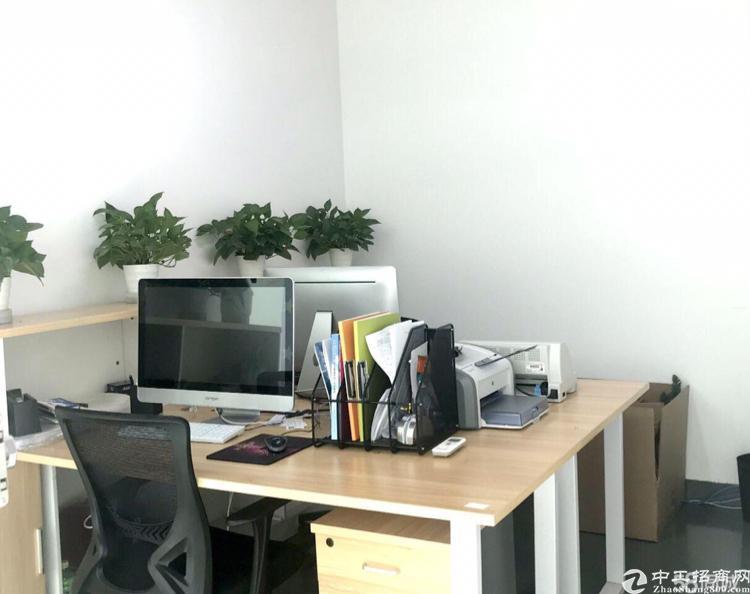 油松商务大厦,208平豪华装修办公室低价转让