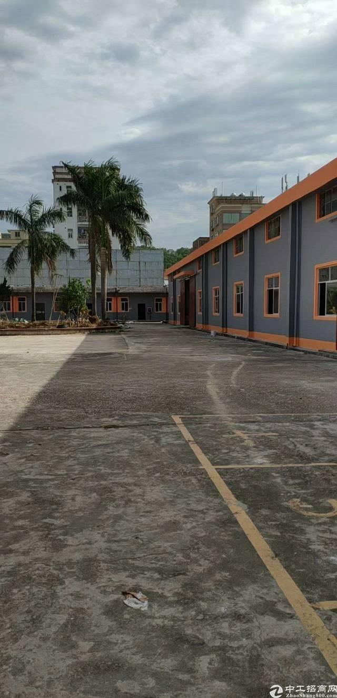龙岗坪地新出钢构独院,带独立办公室,带宿舍,高速路口