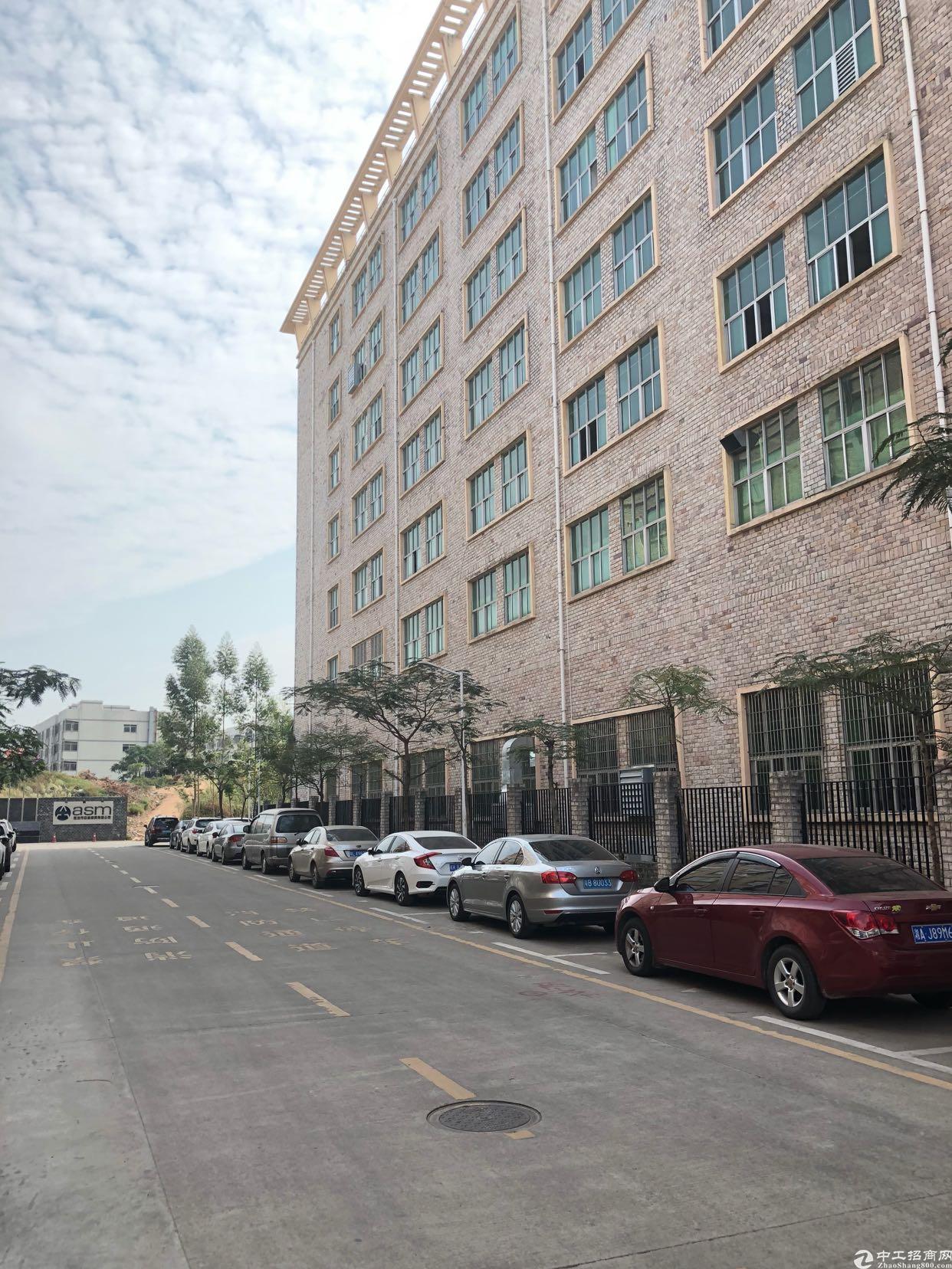 坪山坑梓莹展工业区独栋18000平500平起可分租