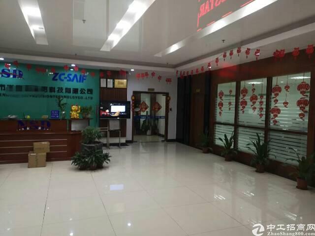 观澜梅观高速出口大富工业区红本一二楼共3700平可分租