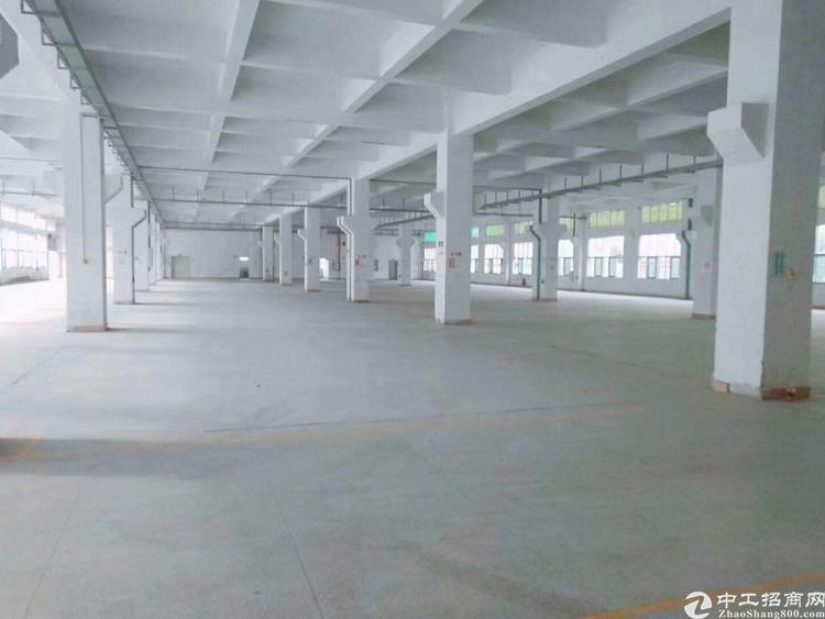长安镇沿江高速路口新出7500平带装修厂房出租