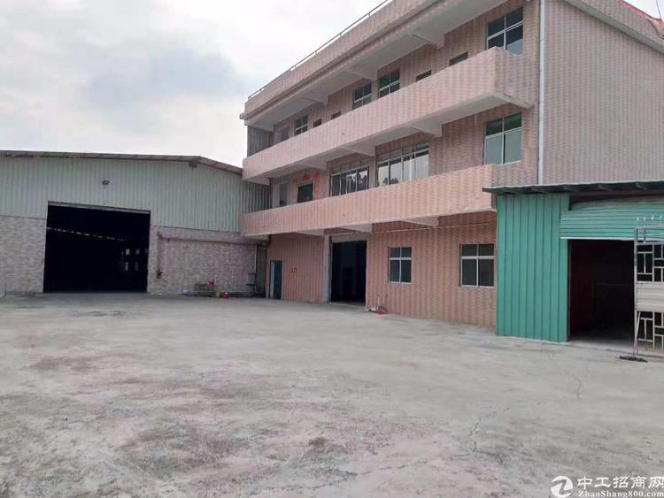 东莞常平新出厂房3600平7米层高,地理位置优越出行方便