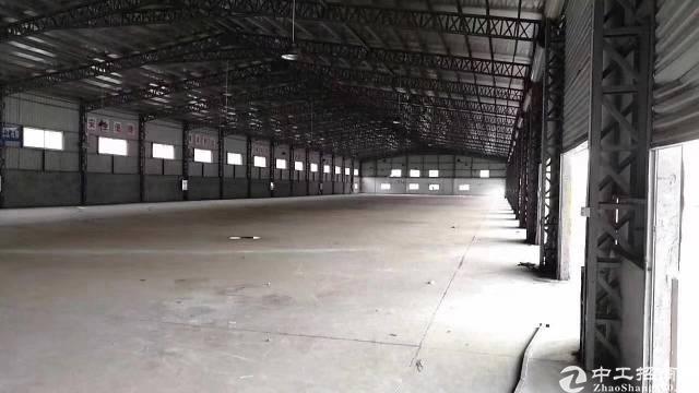 深圳宝安区新出15000平米带卸货平台,标准物流钢构出租