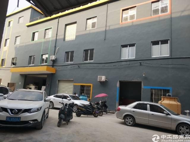 沙井马鞍山新出500平方厂房带行车,有租赁红本