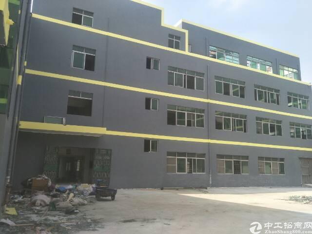 茶山新出原房东独院厂房总面积8000平方,其中厂房1-4层4