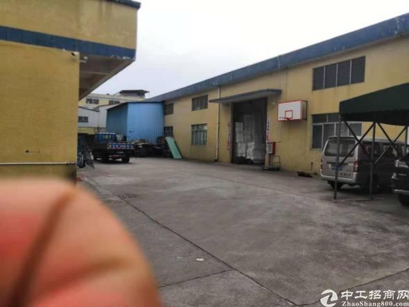 桥头镇占地 4800㎡建筑 6500 ㎡ 集体证厂房出售