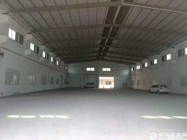 独门独院砖墙到顶厂房5000平,形象靓,中间无柱子,可分租