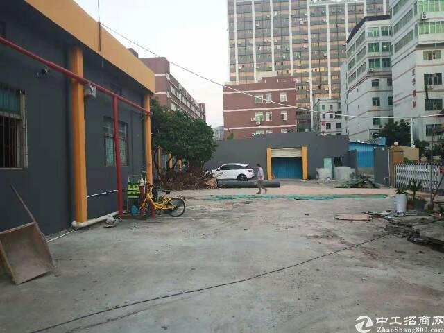 油松独门独院单一层厂房2880平出租。