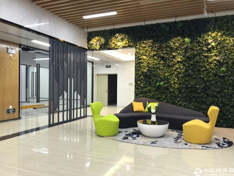 新安地铁口2050平精装办公楼,办公家私齐全大小可以分租