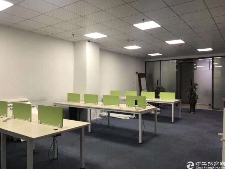 龙华地铁口精装修办公室360平招租