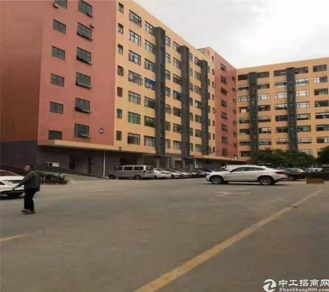 沙井后亭地铁口附近新出楼上900平带豪华装修厂房