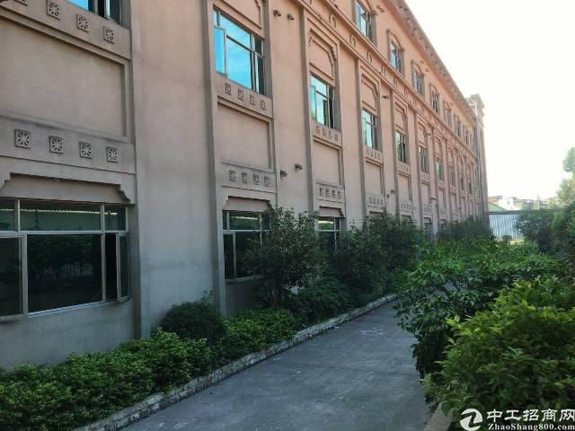 黄江高速路口花园式厂房出租