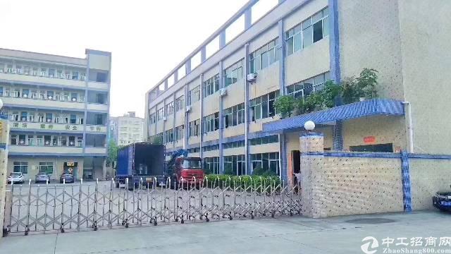 龙岗同乐高速出口一公里新出原房东红本独院厂房7000平米