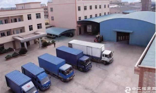 万江占地约15亩建筑约1万平方厂房出售。