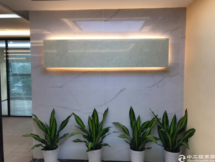 西乡美兰商务中心甲级写字楼149平,办公家私齐全拎包入住