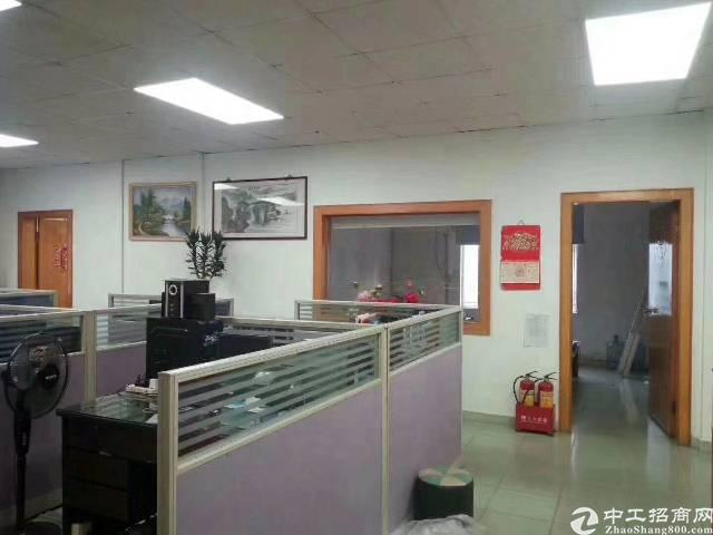 沙井107国道附近新出楼上880平带装修厂房