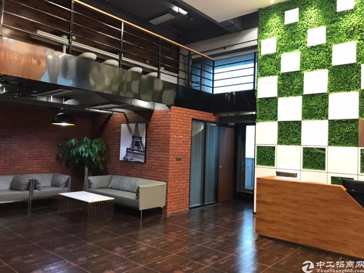 西乡满京华381平甲级写字楼,豪华装修特价出租