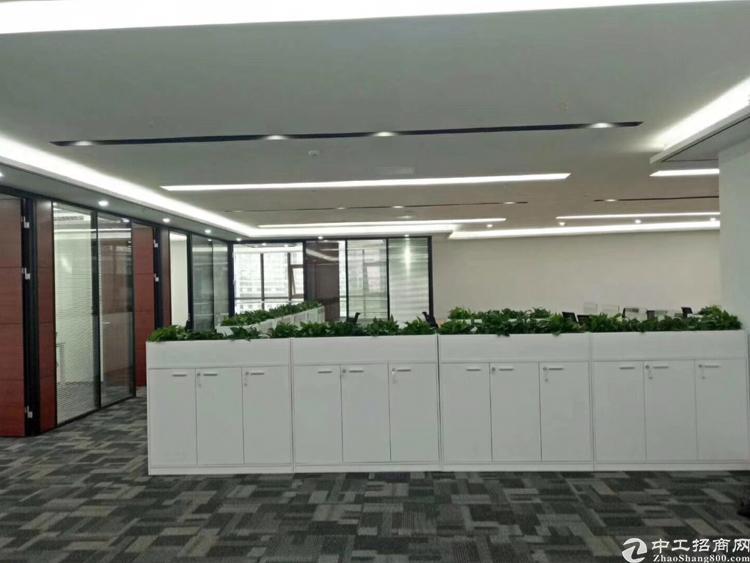 龙华地铁口原房东450平办公室招租