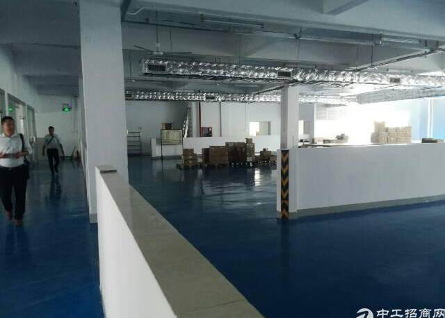 新厂房,精装修,无转让费楼上1000平方厂房出租