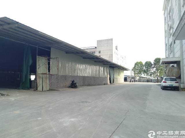 石岩外环路升级改造7000平大型钢构物流仓库出租