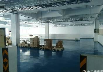 新厂房,精装修,无转让费楼上1000平方厂房出租图片5