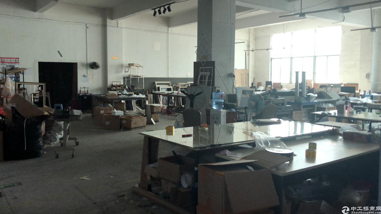 龙华有新空置厂房600平米车间200平办公室150平米