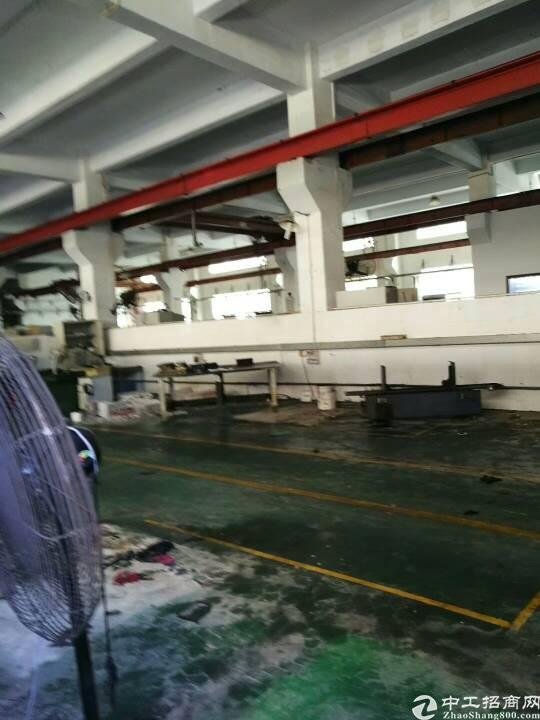 松岗靠沙井原房东做注塑厂房1-4层4800平,面积实际量