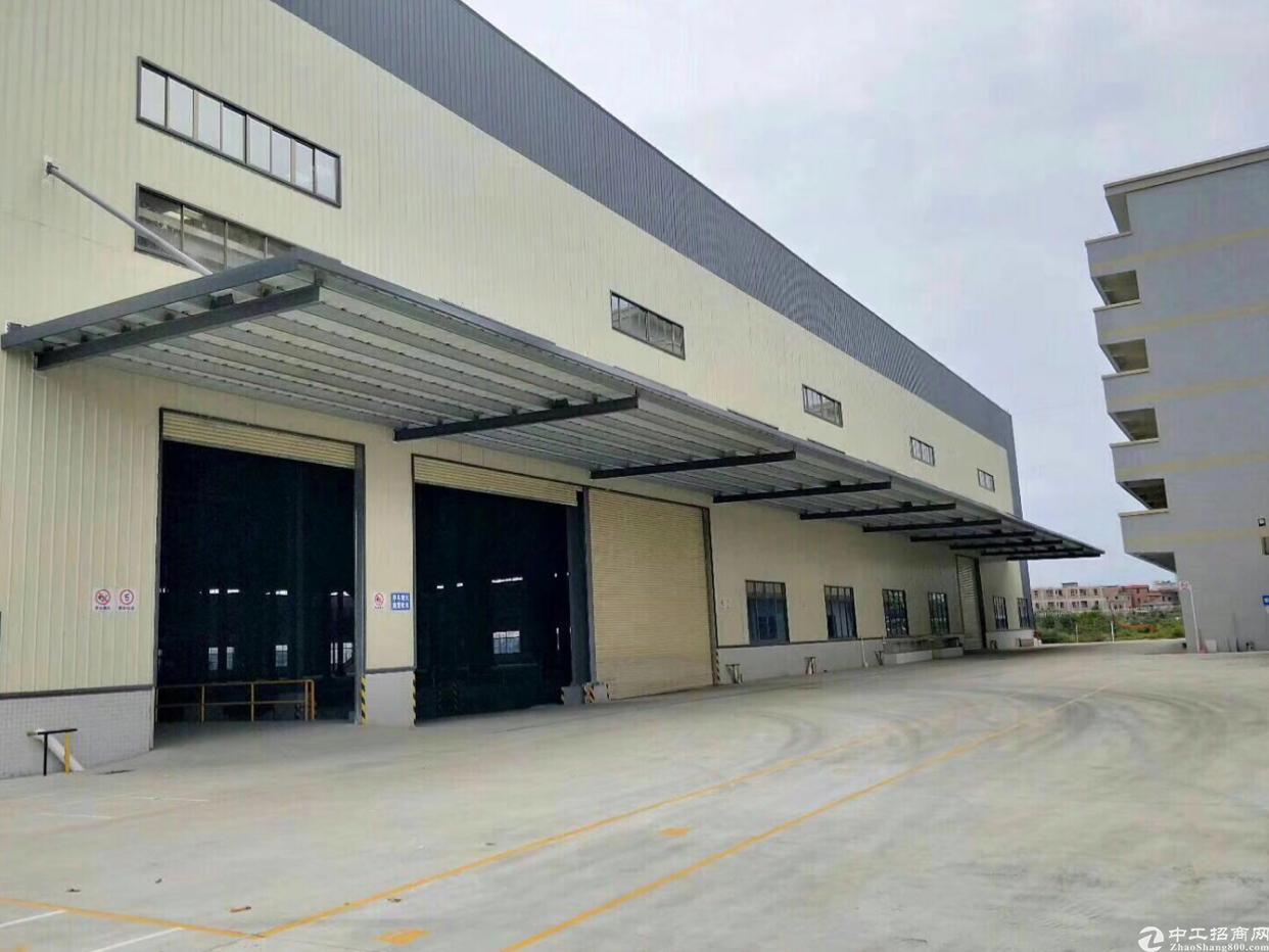万江附近新出全新物流仓,丙二类消防设施,带下沉式卸货平台!