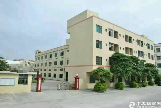 黄江靠深圳花园式独院厂房3层4400平方招租,有现成豪华办公