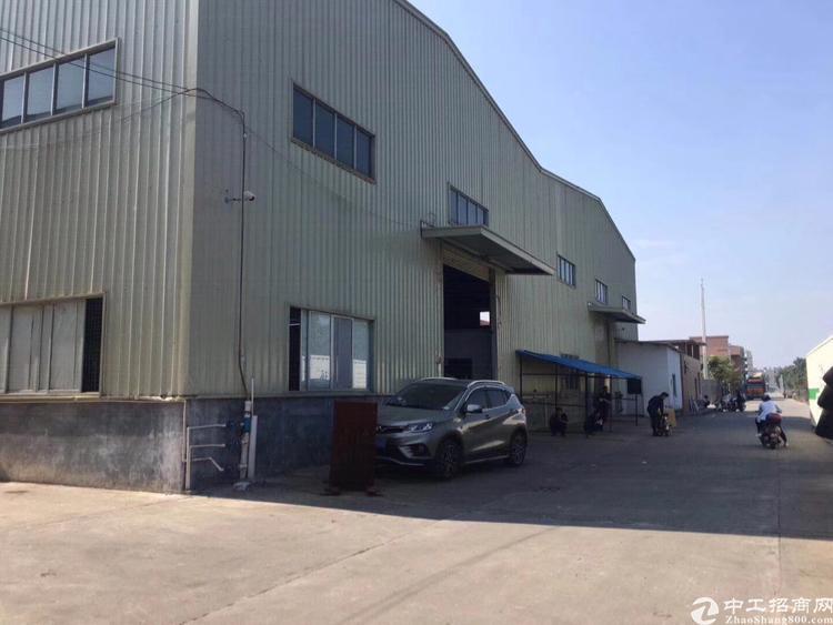 龙华汽车站附近原房东单一层厂房4500平招租