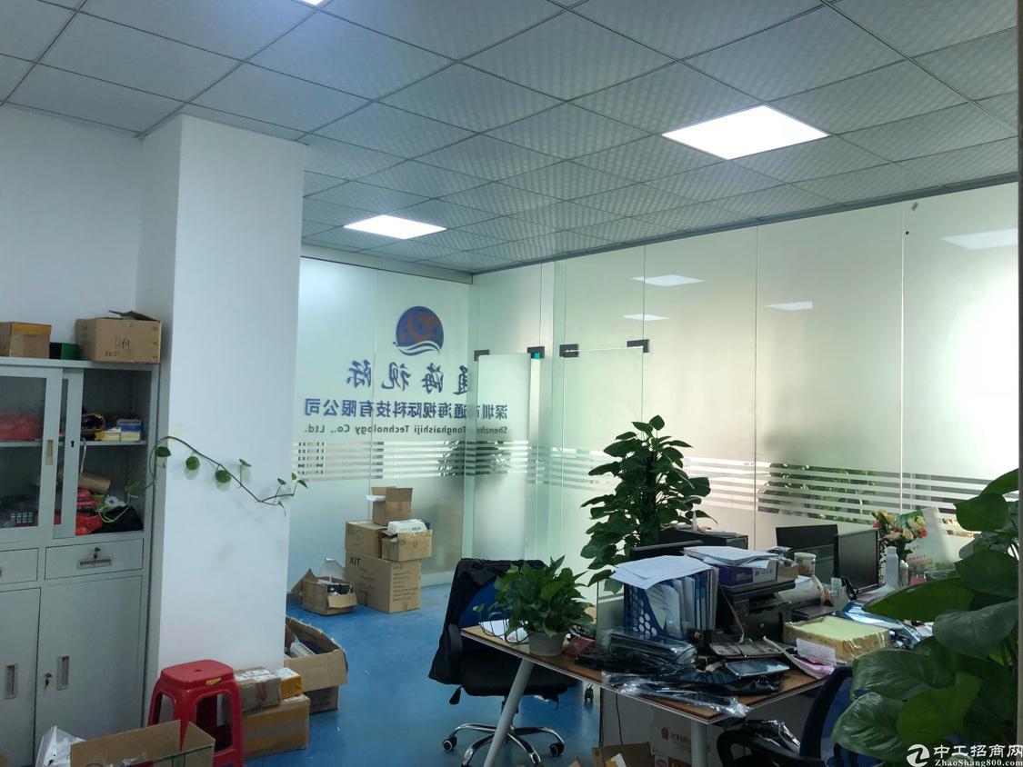 福永塘尾地铁口边上楼上新出560平带精装修厂房