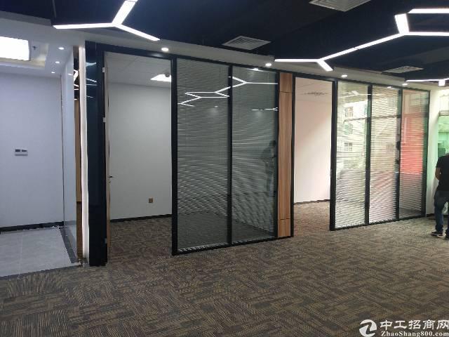南山西丽茶光地铁口附近楼上带精装修写字楼280平招租