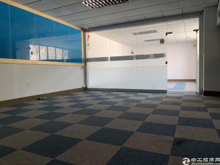 观澜新田2楼1200平方带办公室装修厂房招租