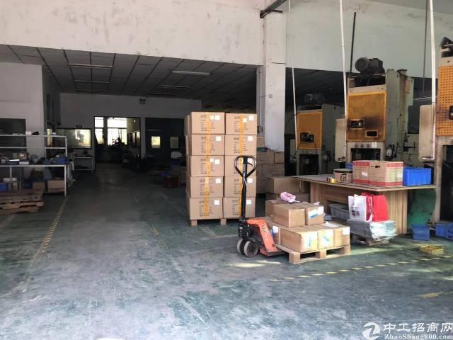 沙井新桥芙蓉工业园新出一楼750平水电齐全厂房