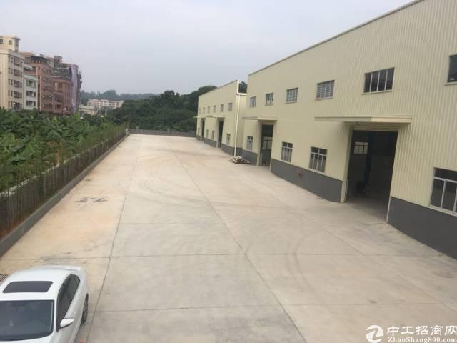 广深高速出入口全新12米高钢构厂房仓库5000平米