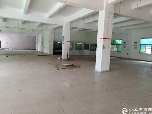 坑梓厂房出租秀新新出独院一楼1360平,高5米现成办公室