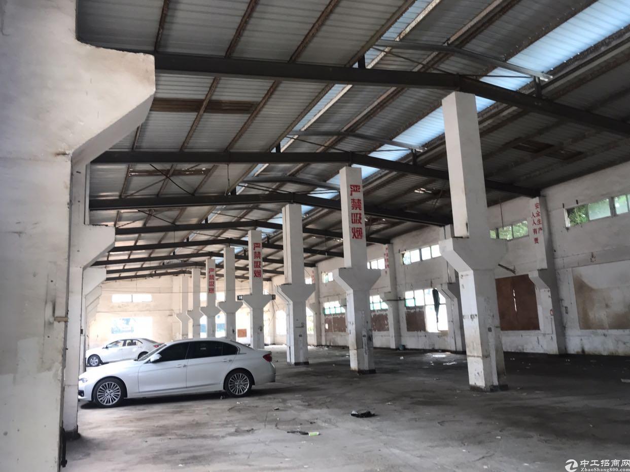 钢结构厂房高十米,实际面积出租,大车可调头